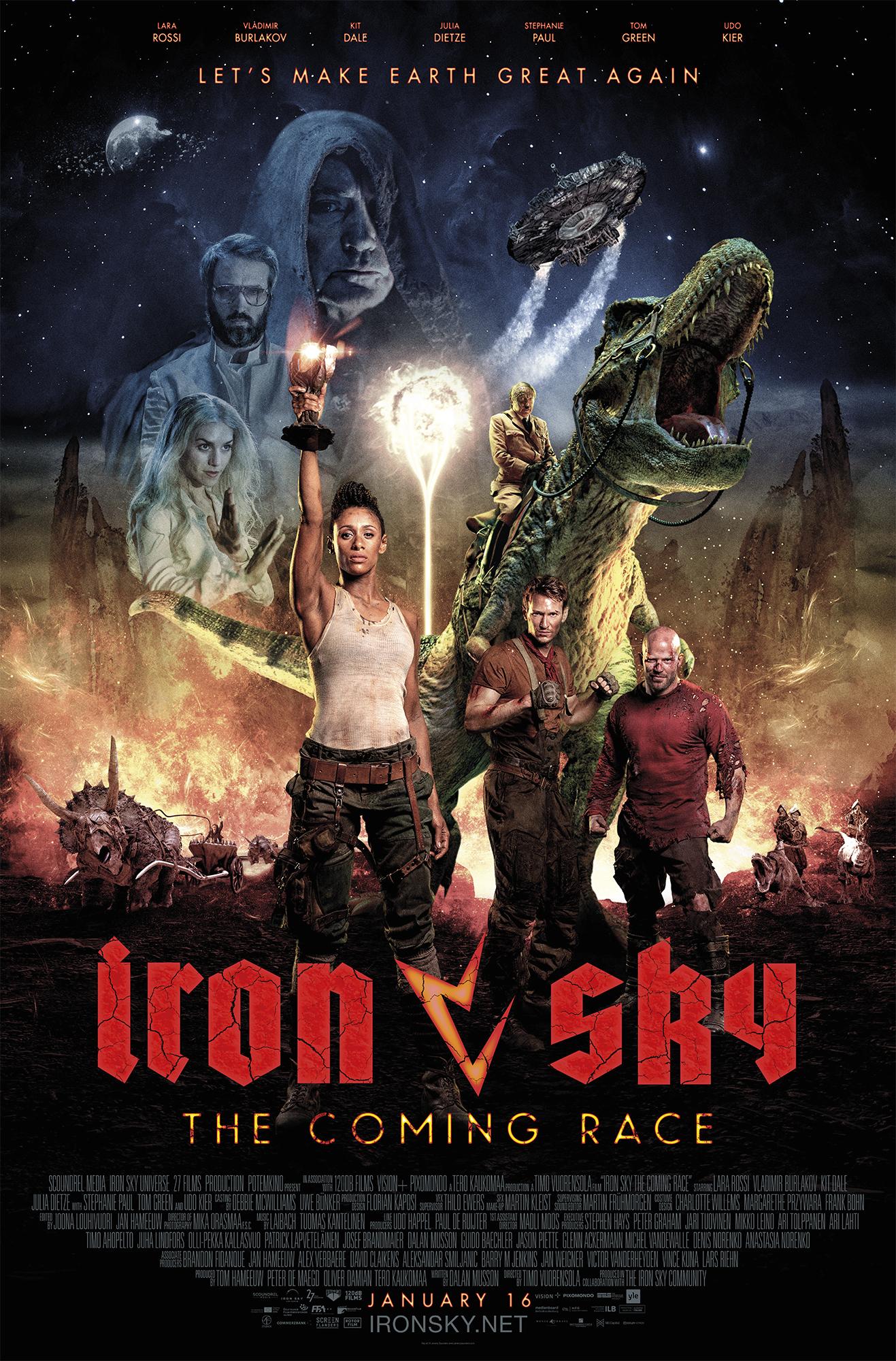 Iron Sky The Coming Race (2019)