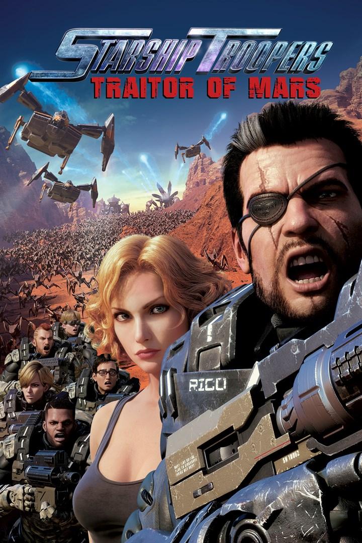 Starship Troopers Traitor of Mars (2017) สงครามหมื่นขา ล่าล้างจักรวาล จอมกบฏดาวอังคาร