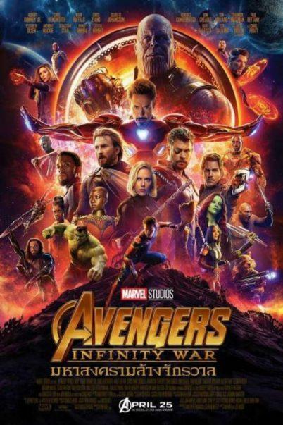 Avengers: Infinity War (2018) อเวนเจอร์ส อินฟินิตีวอร์ มหาสงครามอัญมณีล้างจักรวาล