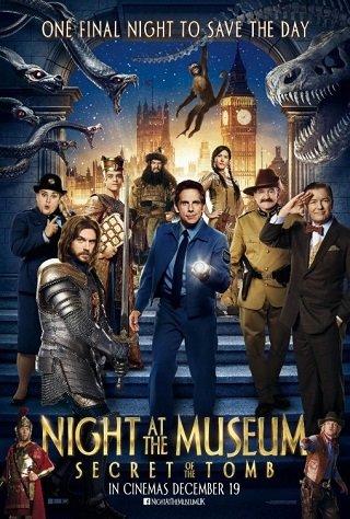 Night at the Museum 3 Secret of the Tomb (2014) ไนท์ แอท เดอะ มิวเซียม ความลับสุสานอัศจรรย์