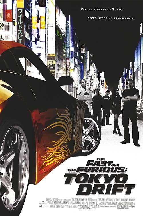 The Fast and the Furious 3 Tokyo Drift (2006) เร็วแรงทะลุนรก ซิ่งแหกพิกัดโตเกียว