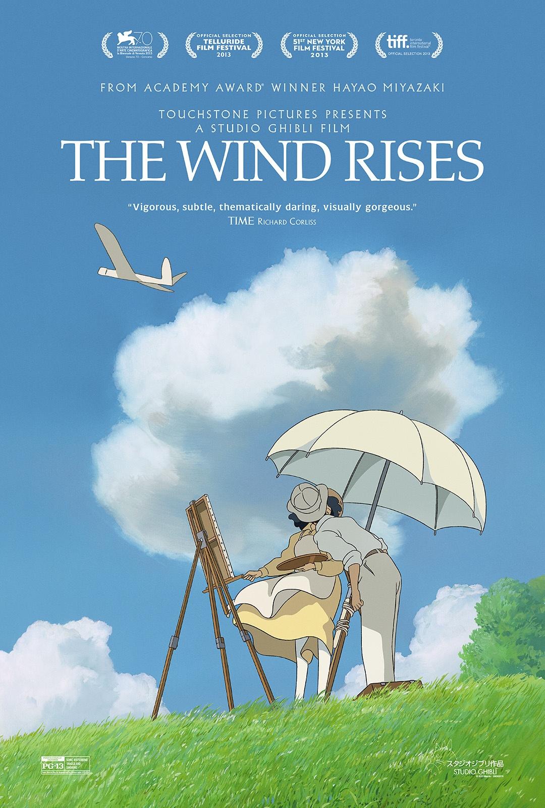 The Wind Rises (2014) สายลมแห่งความฝันและความรัก
