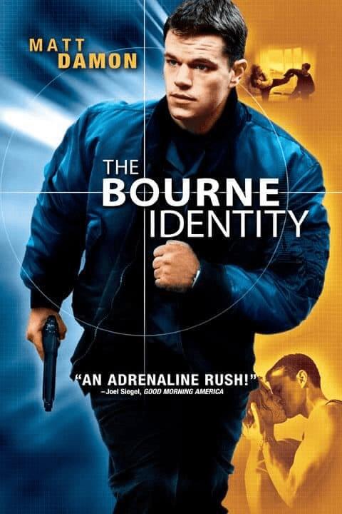 The Bourne 1 Identity (2002) ล่าจารชน…ยอดคนอันตราย