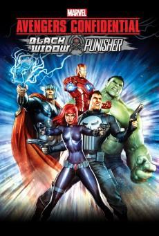 Avengers Confidential Black Widow and Punisher ขบวนการ อเวนเจอร์ส แบล็ควิโดว์ กับ พันนิชเชอร์