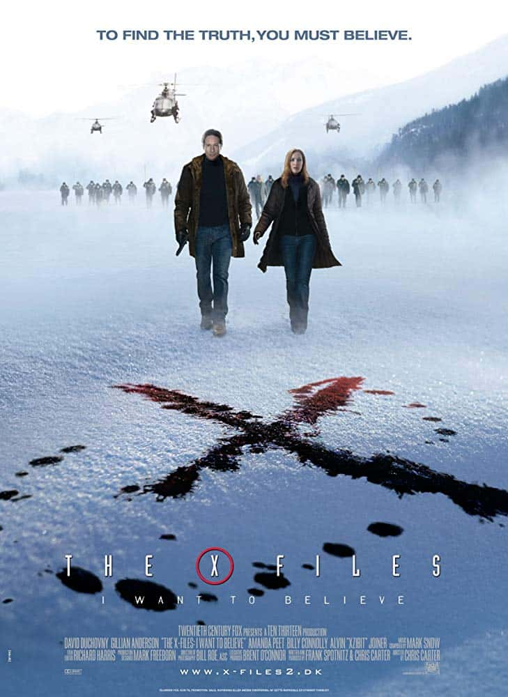 The X Files I Want to Believe (2008) ดิ เอ็กซ์ ไฟล์ ความจริงที่ต้องเชื่อ