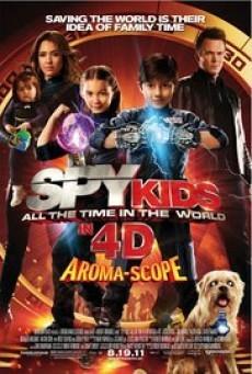 Spy Kids 4 All the Time in the World ซุปเปอร์ทีมระเบิดพลังทะลุจอ (2011)