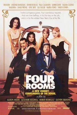 Four Rooms (1995) คู่ขาบ้าท้าโลก