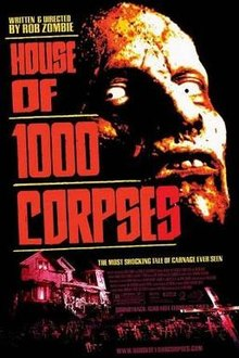 House of 1000 Corpses (2003) อาถรรพ์วิหารผีนรก